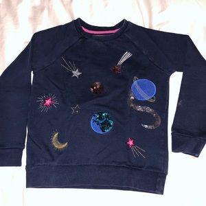 Mini Boden girls sweatshirt